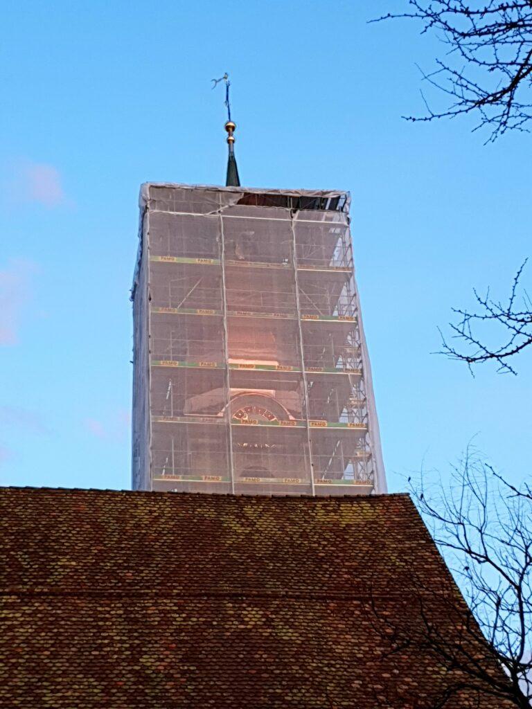 Sanierungsarbeiten 2019 | © Katholische Kirche Unterägeri